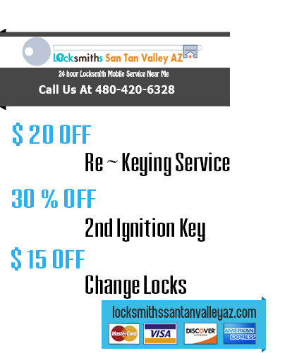 Locksmiths San Tan Valley AZ offer
